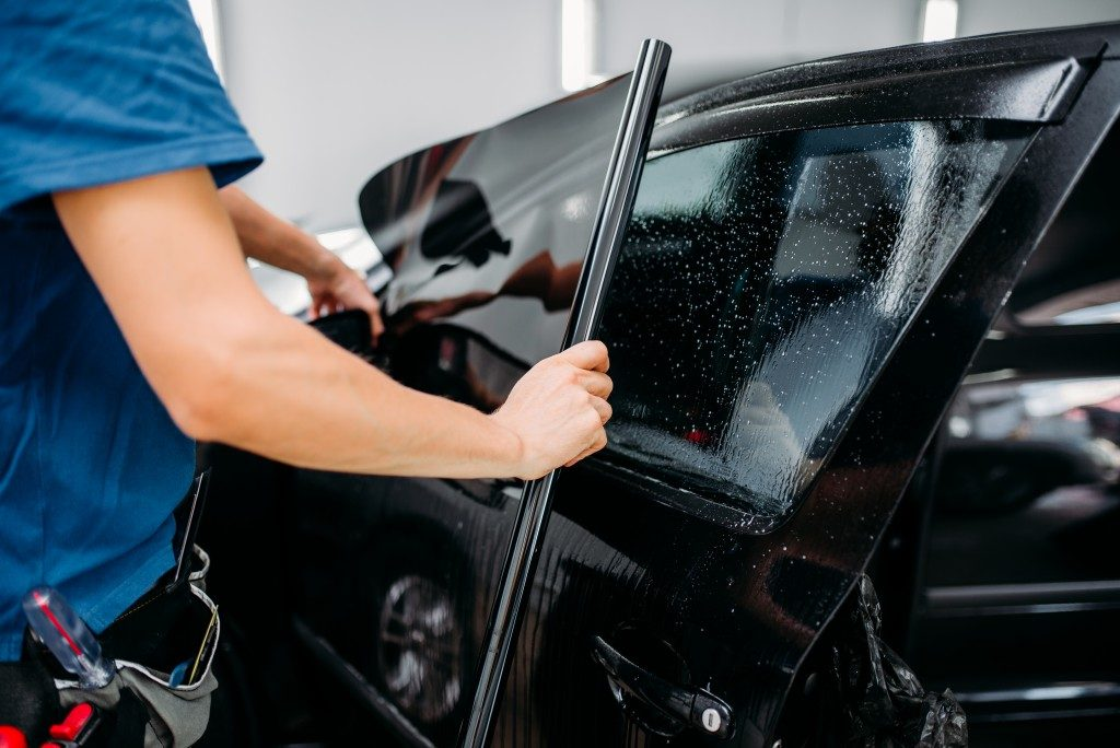 Types of car window tinting