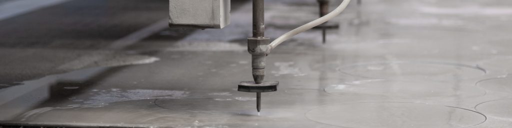 Which industries use waterjets?